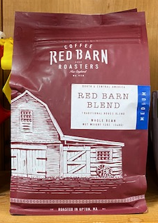 Red Barn Coffee Roasters, Red Barn Blend, Whole Bean, 12oz