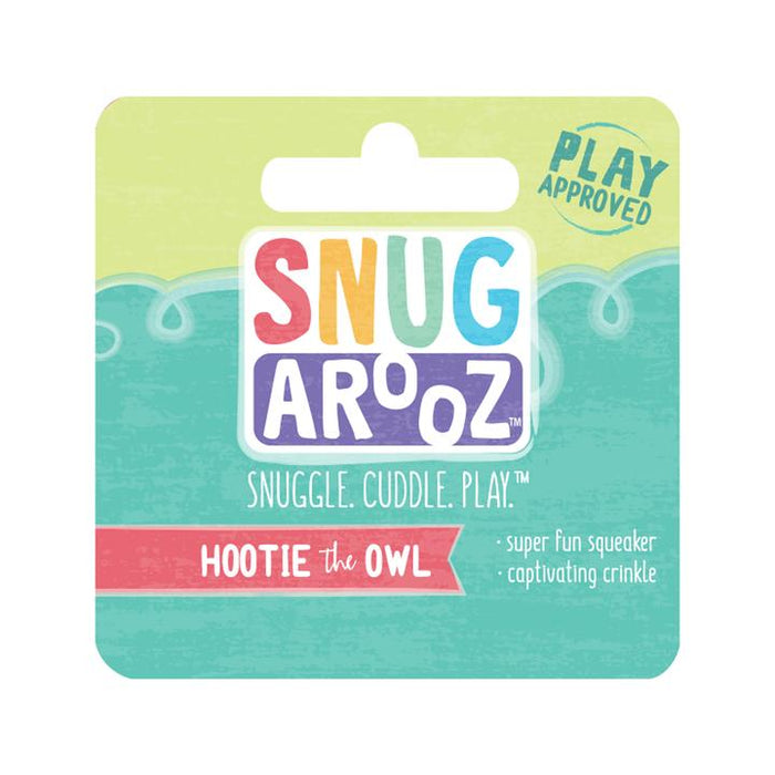 Snugarooz Hootie the Owl Dog Toy