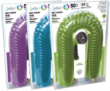 Terra Verde Splash Self Coiling Hose
