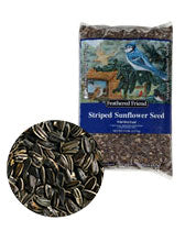 Feathered Friend Bird Seed Sunflower Grey Striped