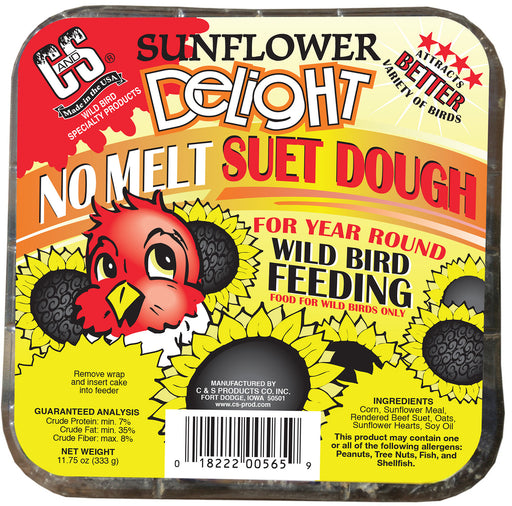 Sunflower Delight No Melt Suet Dough