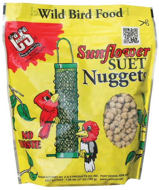 Sunflower Suet Nuggets, 27oz
