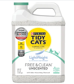Tidy Cats LightWeight Free & Clean Unscented 8.5lb