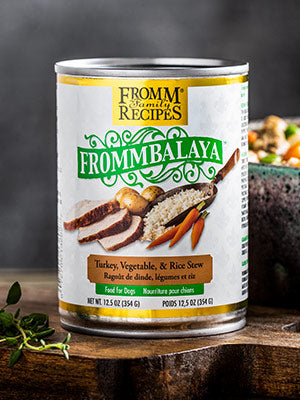 Fromm Frommbalaya Turkey, Vegetable, & Rice Stew Dog Food