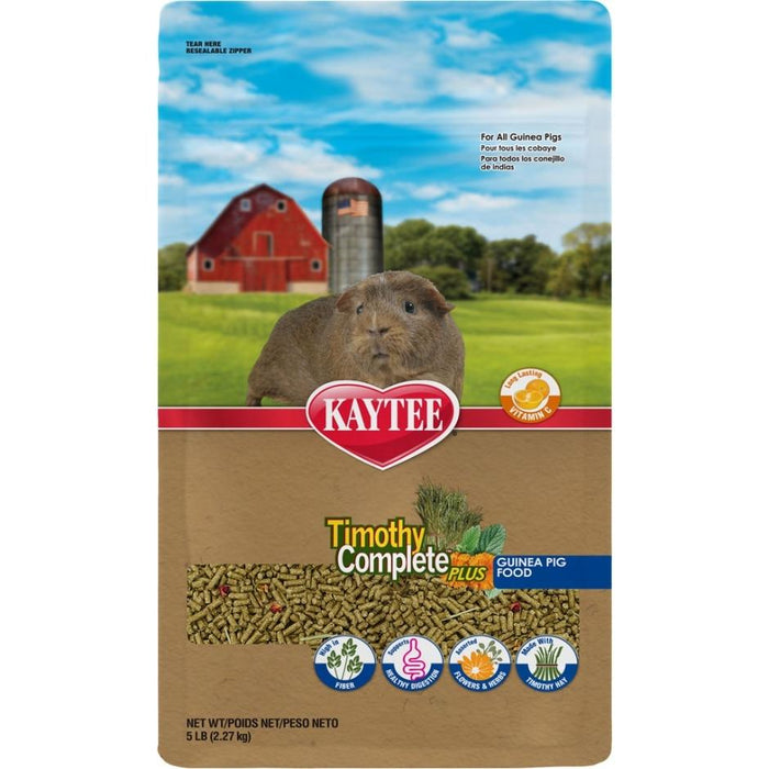TIMOTHY COMPLETE + FLOWERS & HERBS GUINEA PIG FOOD