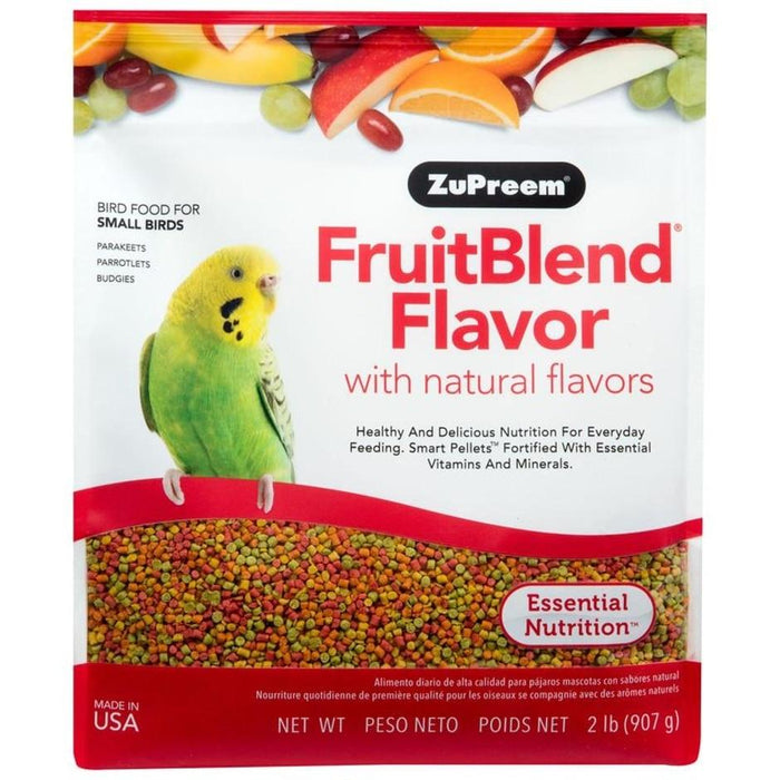 FRUITBLEND WITH NATURAL FRUIT FLAVORS SM PARROT