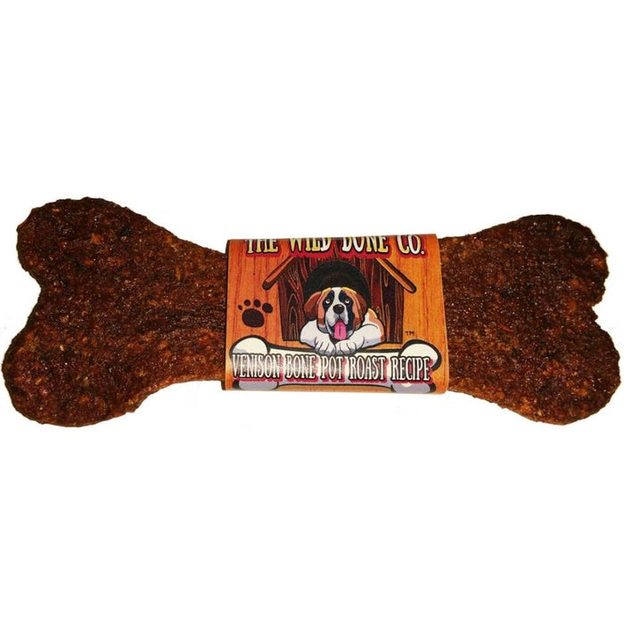 The Wild Bone Company VENISON BONE POT ROAST JERKY STYLE DOG TREAT