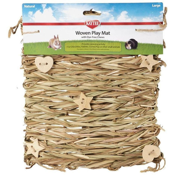 KAYTEE NATURAL WOVEN PLAY MAT