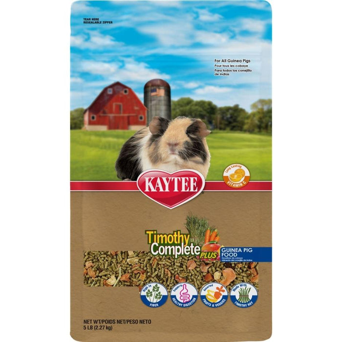 TIMOTHY COMPLETE + FRUITS & VEGETABLES GUINEA PIG