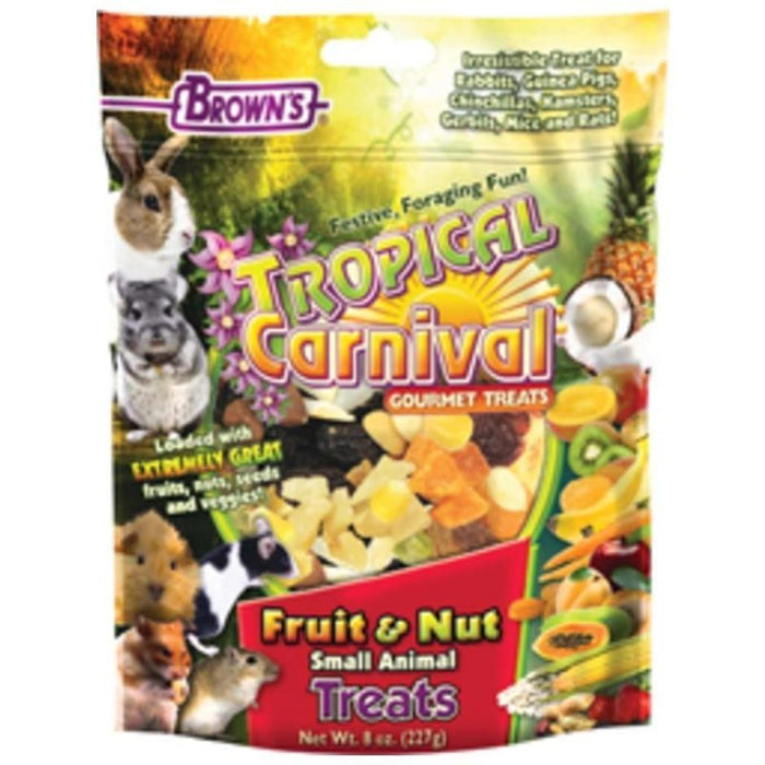 TROPICAL CARNIVAL FRUIT & NUT SMALL ANIMAL TREATS