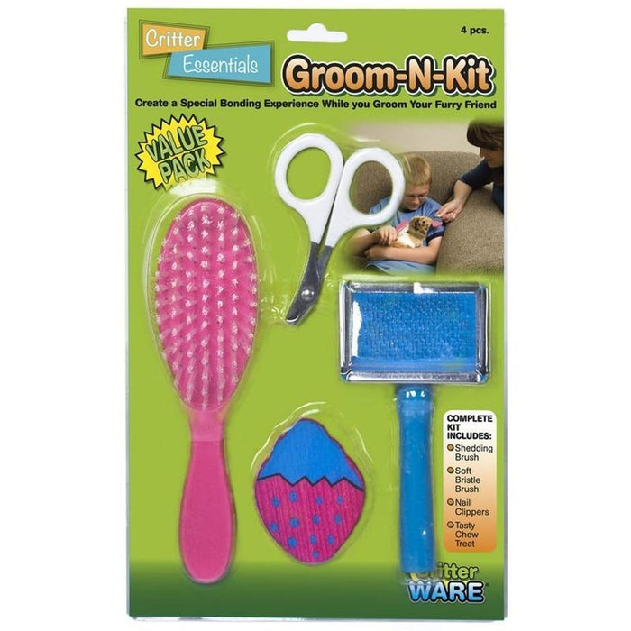 GROOM-N-KIT FOR SMALL ANIMALS