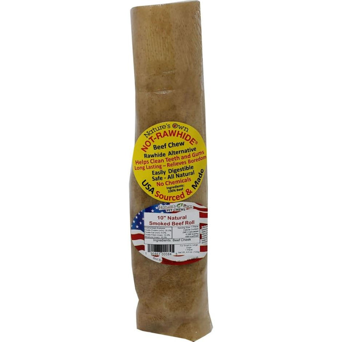 Nature's Own USA NOT-RAWHIDE SMOKED BEEF ROLL CHEW TREAT