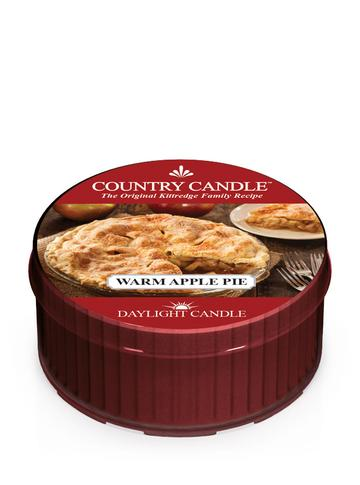 Country Candle by Kringle, Warm Apple Pie, Single Daylight