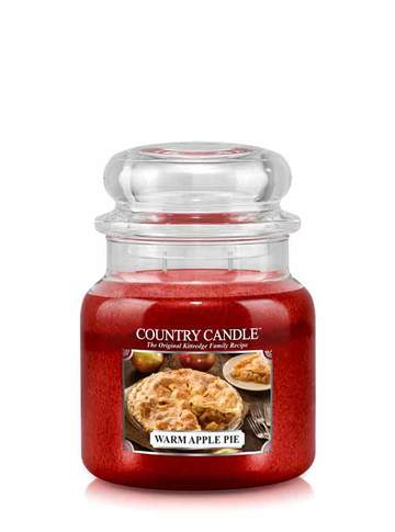 Country Candle by Kringle, Warm Apple Pie, 2-wick Jars