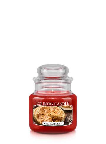 Country Candle by Kringle, Warm Apple Pie, 3.7oz Mini Jar