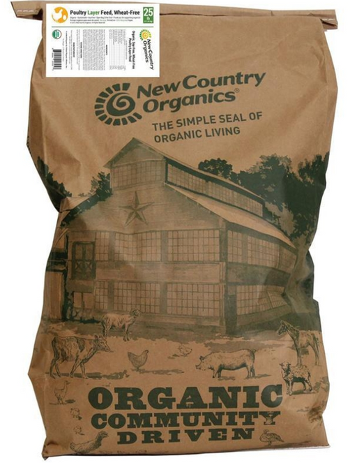 New Country Organics Wheat Free Layer Feed
