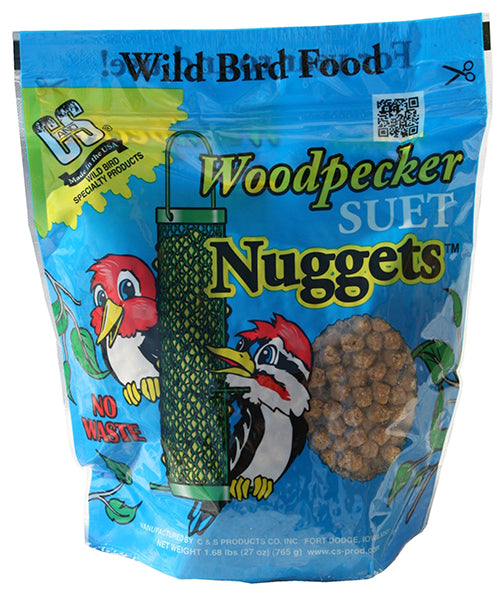 Woodpecker Suet Nuggets, 27oz