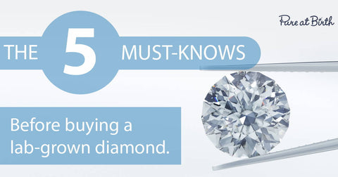 5 facts you must know about lab-grown diamonds
