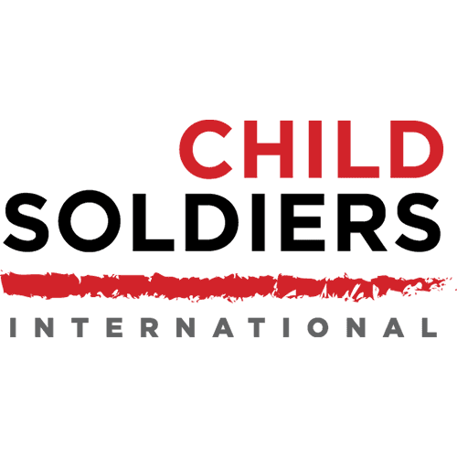 Child Soldiers International logo - Pure at Birth parnter