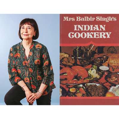 The First Cookbook Madhur Jaffrey Bought