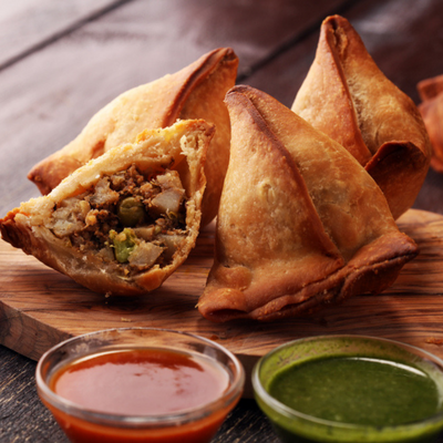 Mrs Balbir Singh's | Vegetable Samosas