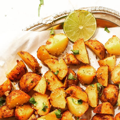 Mrs Balbir Singh's | Quick Tandoori Roasted Potatoes