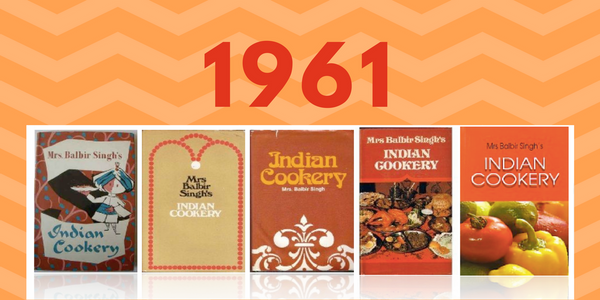 Mrs Balbir Singh's Award-Winning Cookbook - Mrs Balbir Singh's Indian Cookery