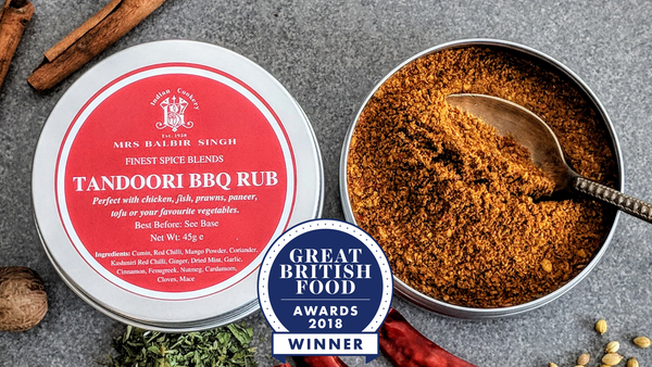 Mrs Balbir Singh's Award-Winning Tandoori Rub - Gourmet Indian Spice Blend (Masala)