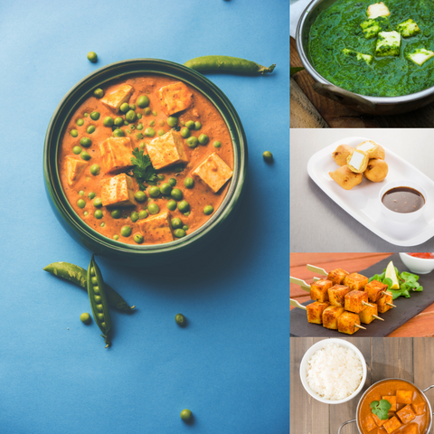 Mrs Balbir SIngh's Indian Cookery - Paneer Dishes & Recipes
