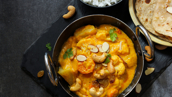 Mrs Balbir Singh's Cashew Nut & Vegetable Korma