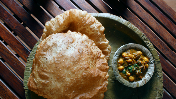 Mrs Balbir Singh's - Bhatura Recipe (Fluffy Deep-Fried Punjabi Bread)