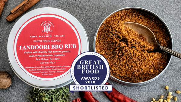 Mrs Balbir Singh's Tandoori BBQ Rub has been Shortlisted for a Great British Food Award