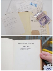 Mrs Balbir Singh Cookbook Returned to Library after 53 Years