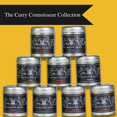 Gourmet Indian Curry Spice Blends (Gift Box) - Gourmet Indian Spice Blends by Mrs Balbir Singh's Indian Cookery