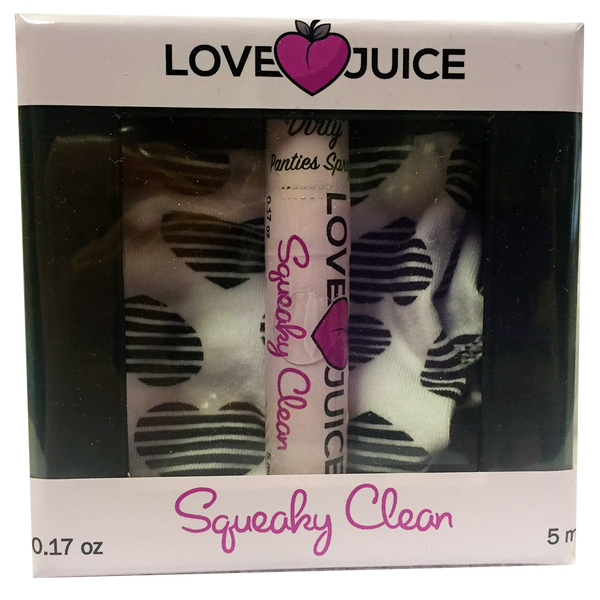 "Squeaky Clean ""Dirty"" Panties & Love Juice Box Set"