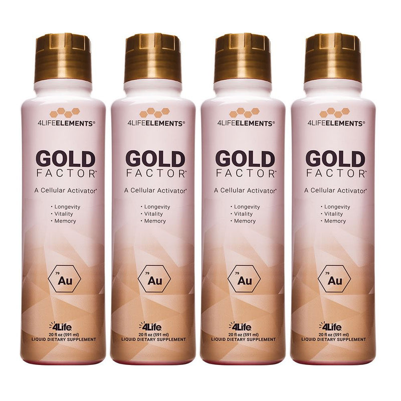 Gold Factor 4 Pack