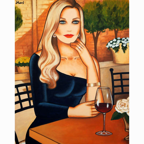 Nadine, Wonderful memories (100x80 cm)