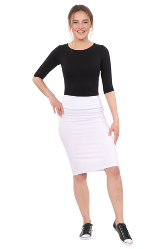 Kelly Layering Top-Elbow Length Sleeves