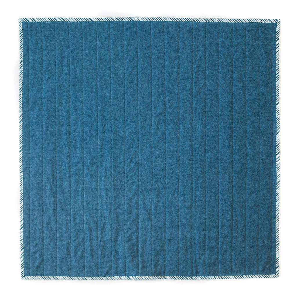 nautical blue quilt backing