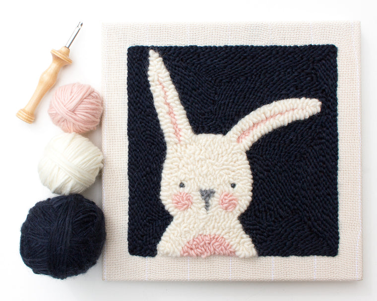 Punch Needle Bunny Kit