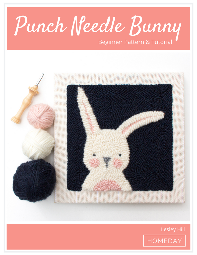 Punch Needle Bunny Pattern