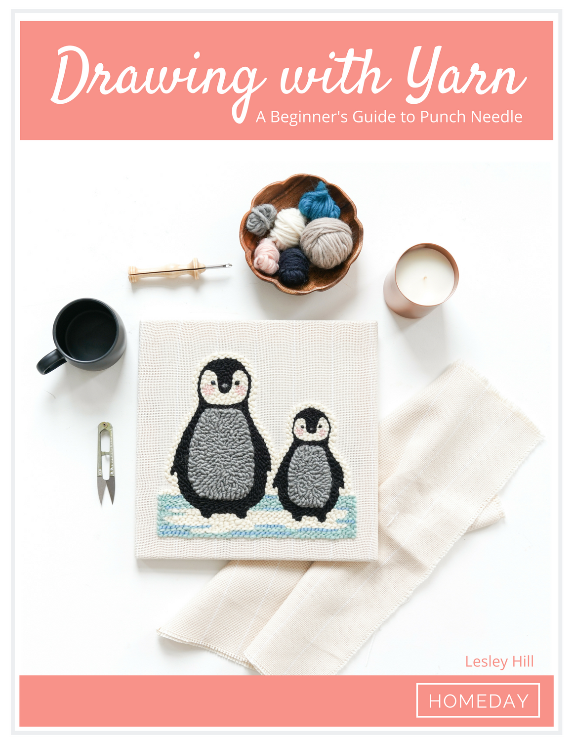 Drawing with Yarn: A Beginner's Guide to Punch Needle Ebook