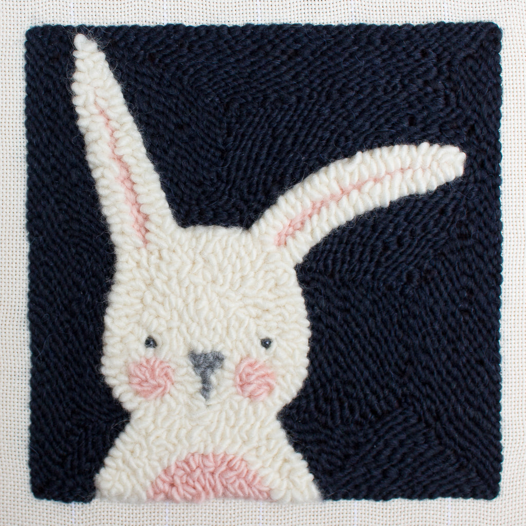 Punch Needle Embroidery- Bunny Pattern