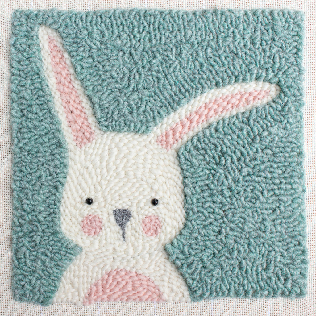 Punch Needle Embroidery- Rabbit Pattern