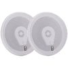 "Image of Poly-Planar 6"" Titanium Series 3-Way Marine Speakers - (Pair)White [MA8506W]"