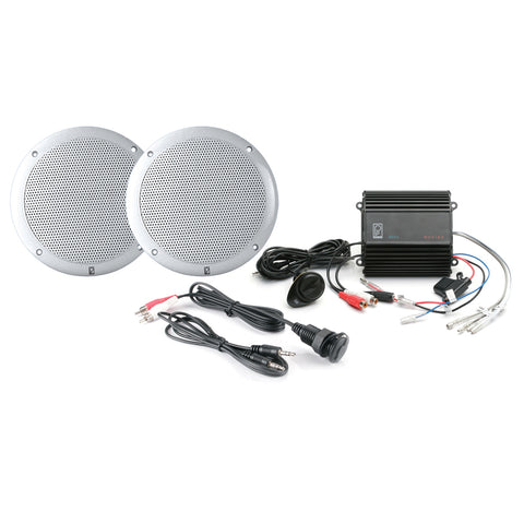 Poly-Planar MP3-Kit w-ME-50, MA-4055 - (Pair) White, IC3.5 [MP3-KIT-A]