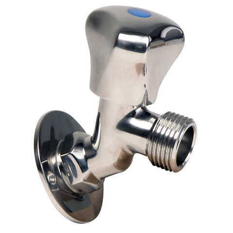 "Whitecap S.S. Faucet 2-3-16"" Base 3-3-16"" Depth [P-2456C]"