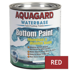 Aquagard Waterbased Anti-Fouling Bottom Paint - 1Qt - Red [10002]