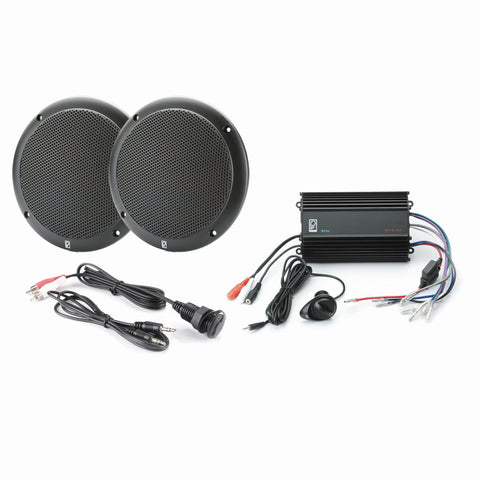 Poly-Planar MP3-KIT4-B MP3 Input-MA4055B-ME-60 Kit - Black [MP3-KIT4-B]