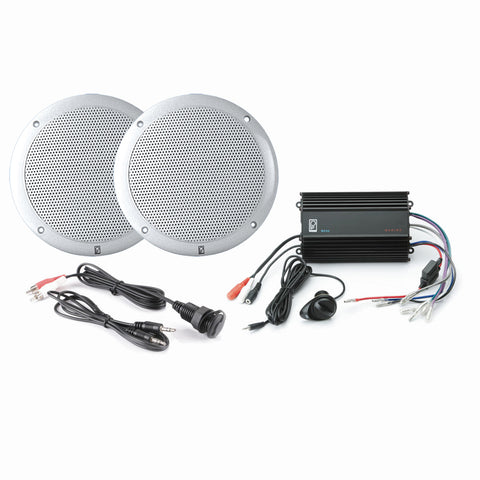 Poly-Planar MPS-KIT4-W MP3 Input-MA4055W-ME-60 - White [MP3-KIT4-W]